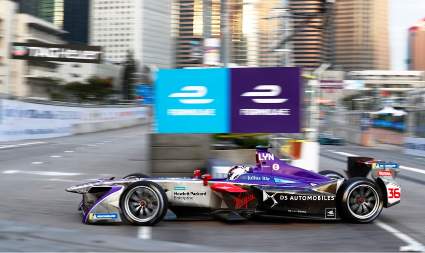 2017/2018 FIA Formula E Championship. Round 1 - Hong Kong, China. Saturday 02 December 2017. Photo: Sam Bloxham/LAT/Formula E ref: Digital Image _W6I5607