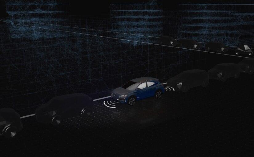 Ayuda al estacionamiento delantero y trasero con cámara de visión trasera